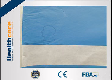 Latex Free Disposable Surgical Drapes Nonwoven Single Plain Sterile Drape For Neurology